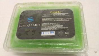 Икра летучей рыбы Тобико зеленая   470 руб