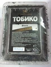 Икра Тобико Люкс черная  470 руб