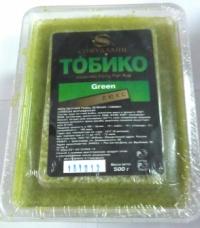 Икра Тобико Люкс зеленая  470 руб